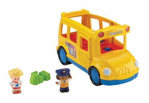fisher price little people lil movers school bus new ebay. Black Bedroom Furniture Sets. Home Design Ideas