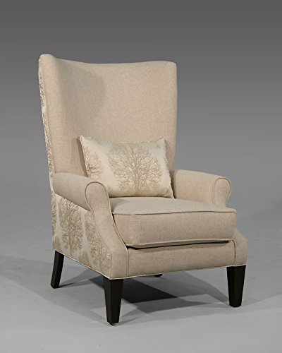Valentia Home Carrie Occ Chair, Shelby/Natural/Contrast - 1