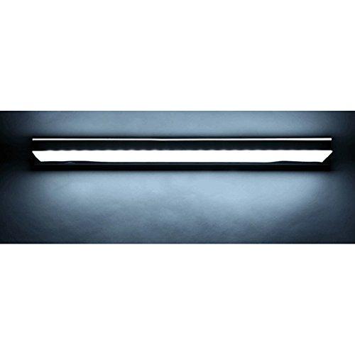 Generic Nuovo acciaio inossidabile acrilico 3 Luce 10W LED Luce da bagno mobile a specchio ...