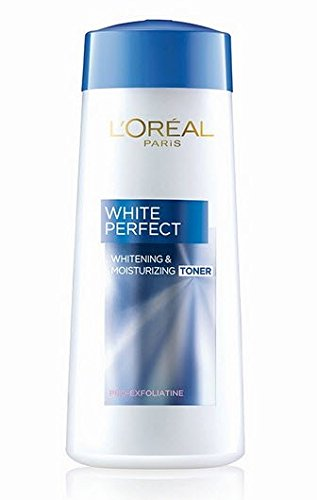 Loreal Paris White Perfect Whitening & Moisturizing Toner 200 ml (Made In Indonesia) With Free Ayur Sunscreen 50 ml