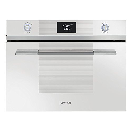 Smeg SF4120MCB Microwave Linea Built-in Combination Compact