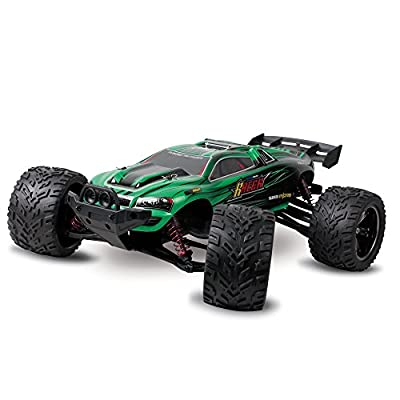 GPTOYS S912 Remote Control Truck Off-Road 1:12 Scale 2.4 GHz 2WD - Green
