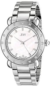 JBW Women's J6293B Silver-Tone Stainless Steel Watch