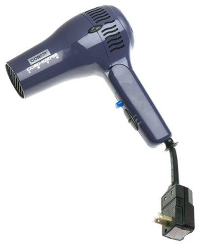 Conair 169R 1875-Watt Cord Keeper Folding Hair Dryer (110 220 Blow Dryer compare prices)