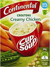 Continental Creamy Chicken amp Croutons Cup-A-Soup - Australian