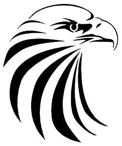 EAGLE HEAD  2  Airbrush   Eagle Head Stencil