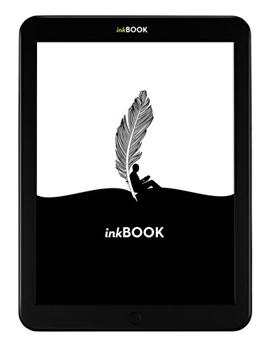 "inkBOOK 8, 8"" E Ink Touchscreen Display e-book reader with Built-in Light -- includes Android App Store, Wi-Fi, 8 GB, SD Memory Card slot"