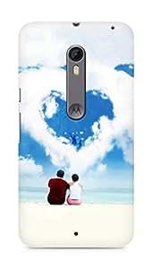 Amez designer printed 3d premium high quality back case cover for Motorola Moto X Style (Love Dreams)