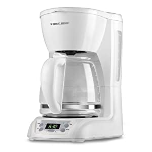 Black & Decker DLX1050W 12-Cup Programmable Coffeemaker with 24 Programmable Brew Time