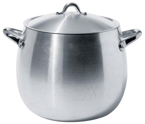 Alessi Mami Pot with Lid, Aluminium, 26 cm (SG100/26AL)