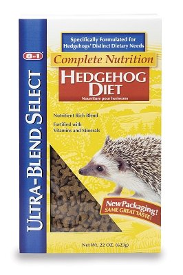 "Brand New Upg - Companion Animal - Hedgehog Diet Box 22Oz ""Small Animal Products - Small Animal - Food"""