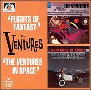 The Ventures - Flights of Fantasy/The Ventures in Space - Zortam Music