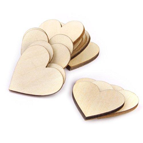 Pixnor-100pcs-20mm-Wood-Slices-Tree-Log-Discs-Rustic-Wedding-Ornaments