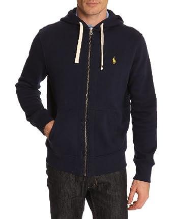 POLO Ralph Lauren - Sweats à capuche - Homme - Sweatshirt Zippé Bleu - L