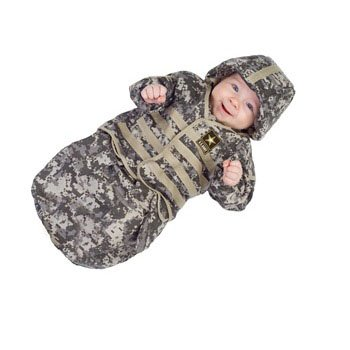 U.S. Army Bunting Child Costume Size 0-6 Infant