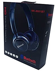 Mobitron Bluetooth Headphone With Fm Radio / Sd Card And Aux Cable (With Inbuilt Battery)