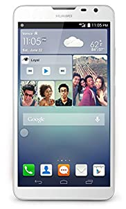 Huawei Ascend Mate2 4G LTE Smart Phone - 16GB - 6.1'' Screen - Quad Core - Factory Unlocked - US Warranty (White)