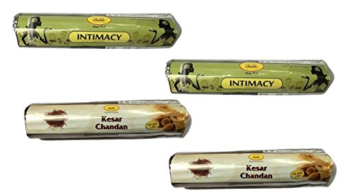 Shubh99 Incense Stick INTIMACY & KEASR CHANDAN 16CM Pack Of 4