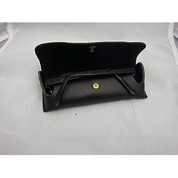 OverStock Blowout Sale Brown Double Snap Belt loop eyeglass case
