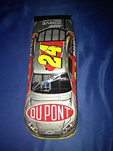 JEFF GORDON SIGNED Autographed 2012 DUPONT ICE 1 24 Diecast COA - Autographed NASCAR... by Sports Memorabilia