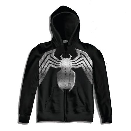 The Amazing Spider-Man Black Costume Hoodie Men's Sweatshirt
