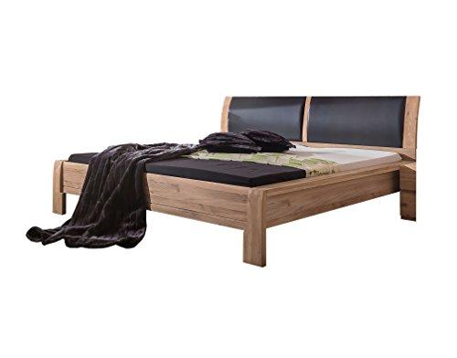 50EBTT52 Bett, Holz, Asteiche bianco, 215,7 x 180 x 97 cm