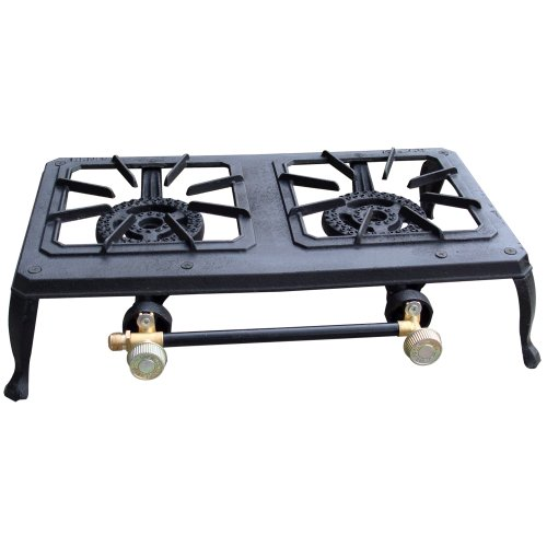 Sportsman DBCIS Double Burner Outdoor Cast Iron