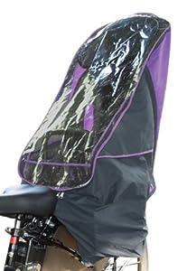 LAKIA(ラキア) 自転車 チャイルドシート レインカバー リア用 LK-R-PP パープル