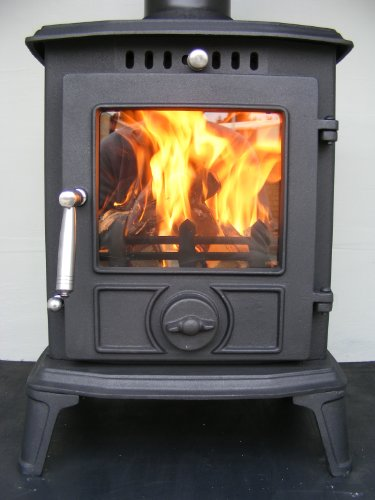 FIREGLOW 27 CAST IRON WOODBURNING MULTIFUEL STOVE 5 kW HIGH EFFICIENCY
