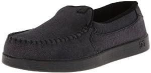 DC Men's Villain TX Shoe,Jet Black,10.5 M US