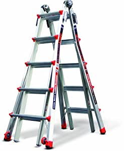Little Giant 12022 RevolutionXE 300-Pound Duty Rating Multi-Use Ladder, 22-Foot