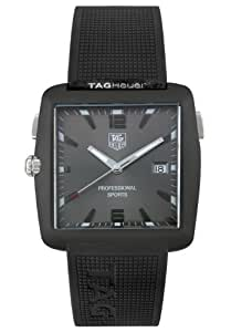 TAG Heuer Men's WAE1113.FT6004 Tiger Woods Professional Golf Watch
