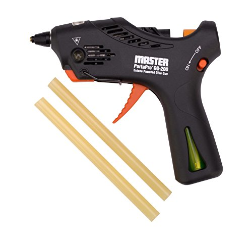Master Appliance GG-200 PortaPro Professional Lightweight Cordless High Temperature Hotmelt Glue Gun with 2 General Purpose Sticks (Hot Glue Gun Cordless compare prices)