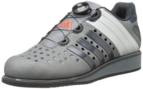 adidas Performance Men's Drehkraft Training Shoe,Iron Metallic Grey/Dark Grey/Silver,6.5 M US