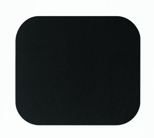 Fellowes Medium Mouse Pad, Black (58024)