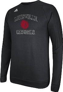 Louisville Cardinals Adidas Sideline Training Dominate Tech Fleece Sweatshirt by adidas