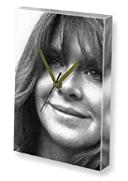 MELINDA DILLON - Canvas Clock (A4 - Signed by the Artist) #js001