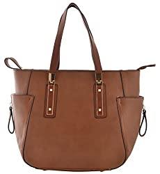 GOURibags Women's Handbag (Brown)