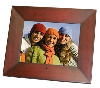 Opteka OPT 8 DPF-CH 8-Inch Digital Picture Frame w/128MB Built-In Memory (Cherry Wood)