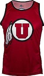 NCAA Utah Utes RUN/TRI Singlet, Red, Large