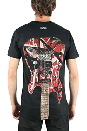 Edward Van Halen - Eruption Adult T-Shirt In Black, Large, Black