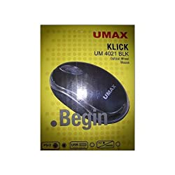 Umax Optical PS2 Mouse 4021 (Black)