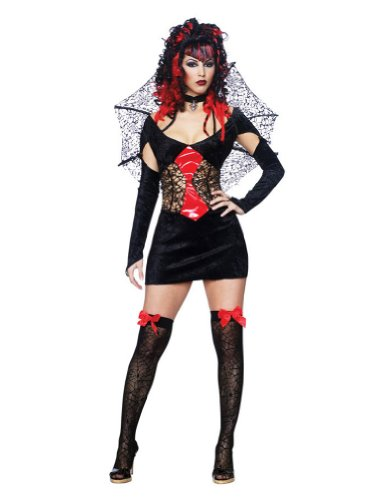 Nightmare Black Widow Sexy Sm Adult Womens Costume