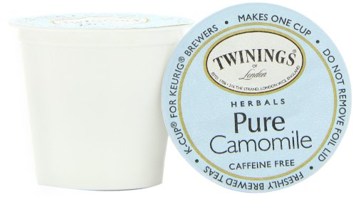 Twinings Pure Camomile Tea, K-Cup Portion Pack for Keurig K-Cup Brewers, 24-Count