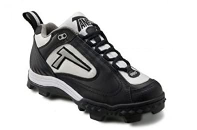 Buy Tanel 360° REV-D Low Cut Ladies Softball Cleat SpiderFlex Tech. Black, White & Silver.... by Tanel 360