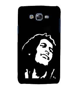 printtech Bob Marley Design Back Case Cover for Samsung Galaxy A7 / Samsung Galaxy A7 A700F