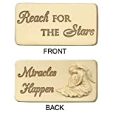 Positile Reach For The Stars Motivational Stones Angel Star