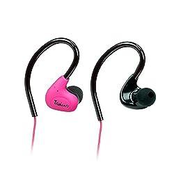 Amkette Pulse S6 691PK Headphones with Mic (Pink)
