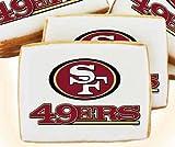 NFL San Francisco 49ers Cookies Two Dozen