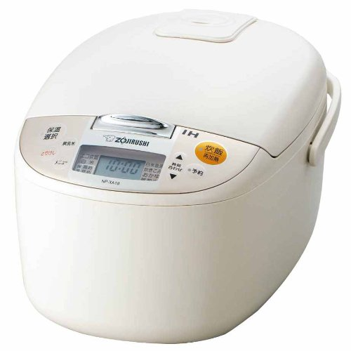 [1] Bushel Cook Rice Cooker Zojirushi Ih Np-Xa18-Cl Np-Xa18-Cl Light Beige back-521513